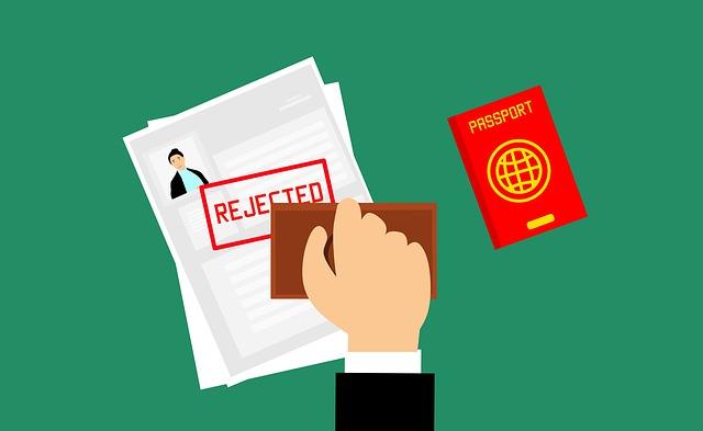 Rejected visa